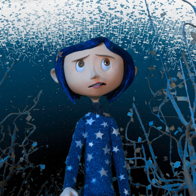 Coraline in the woods