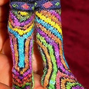Fairisle Socks, 2006