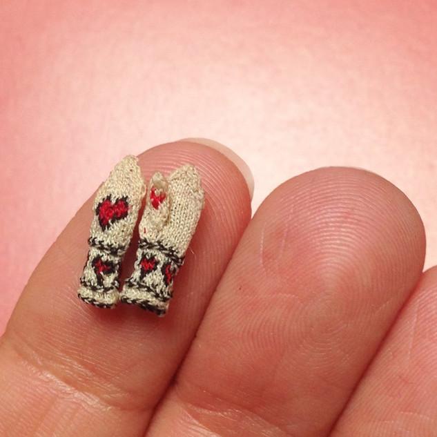 valentines day mittens