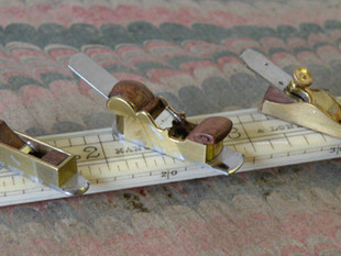 English style planes, brass, steel and rosewood