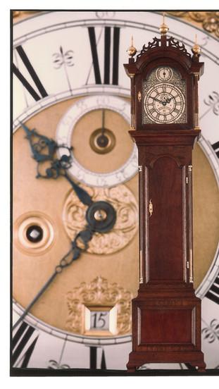 Elnathan Taber Tall Case Clock, 1979, John McDonnell photo