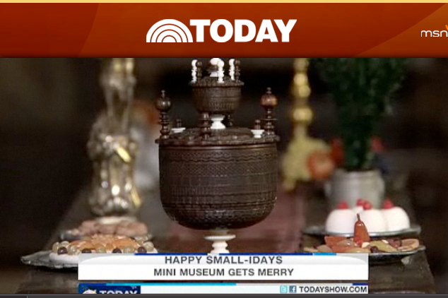 Wassail Bowl, featured on the Today Show, 12-25-2010