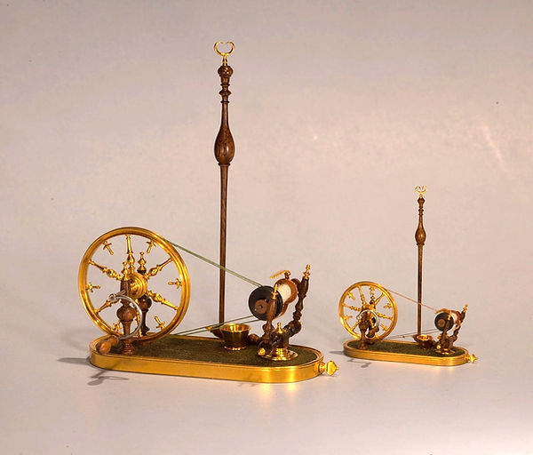 French spinning wheel, 1_6th & 1_12th sc