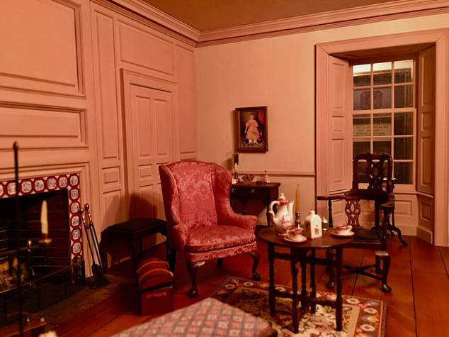 Twin Manors, sitting room