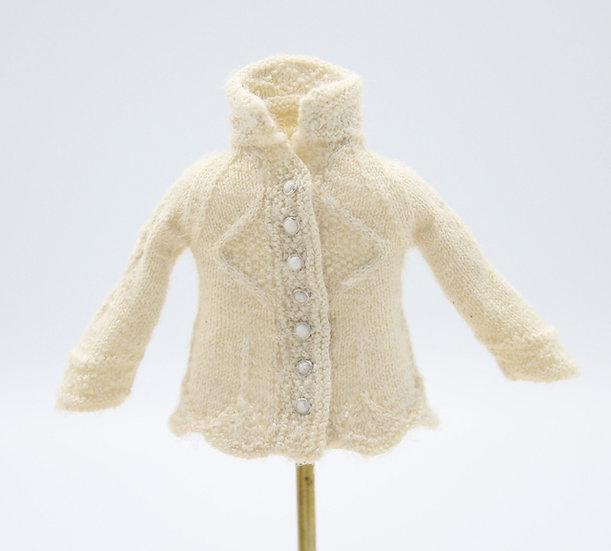 Queen Elizabeth Cardigan-Wool/Silk