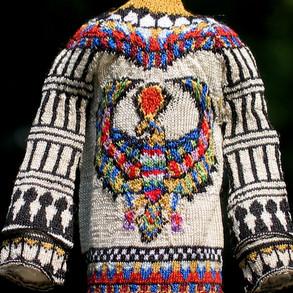Ancient Egyptian Cardigan-Back