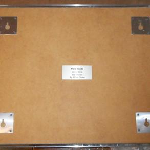 Framed Gloves, 12 pair, labeled on back