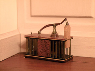 Hepplewhite style mousetrap, 1979, 1 of 6 made