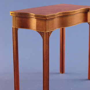 Rhode Island tea table, with reeding, gardooning, fretwork, molded legs