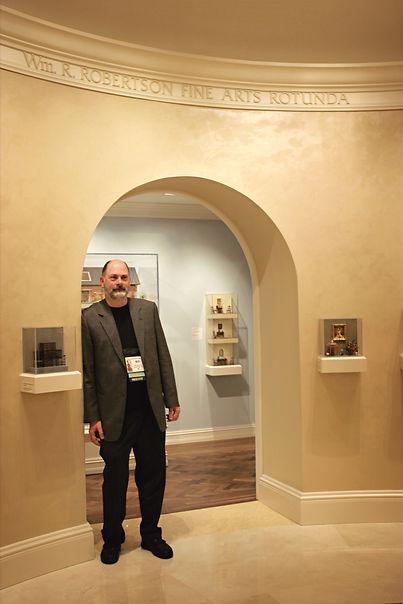 Bill at Kentucky Gateway Museum