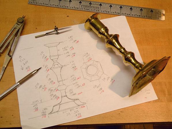 1 Making an 18th c. English candlestick,