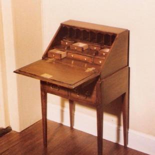Norfolk Ladies Desk, 1977, WRR's 1st piece