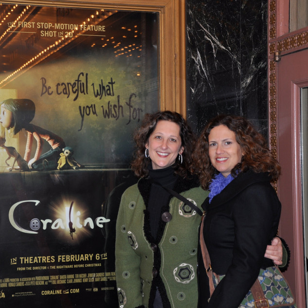 Althea and Yara at Coraline Premier