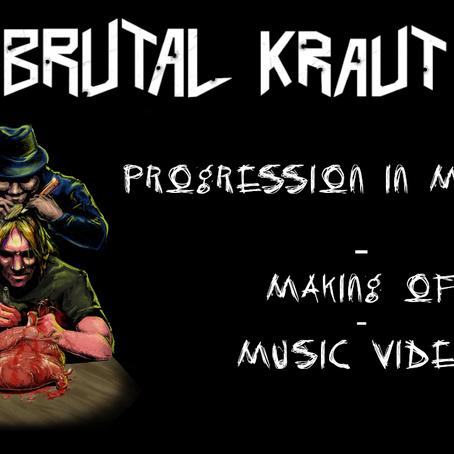 "New music video ""PROGRESSION IN MADNESS"""