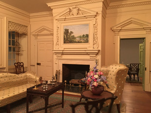 Twin Manors, drawing room