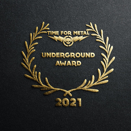 TIME FOR METAL Underground Award 2021