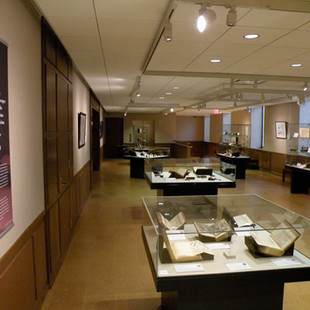 Design, Linda Hall Library, KCMO.,Microscope Exhibit, 2009