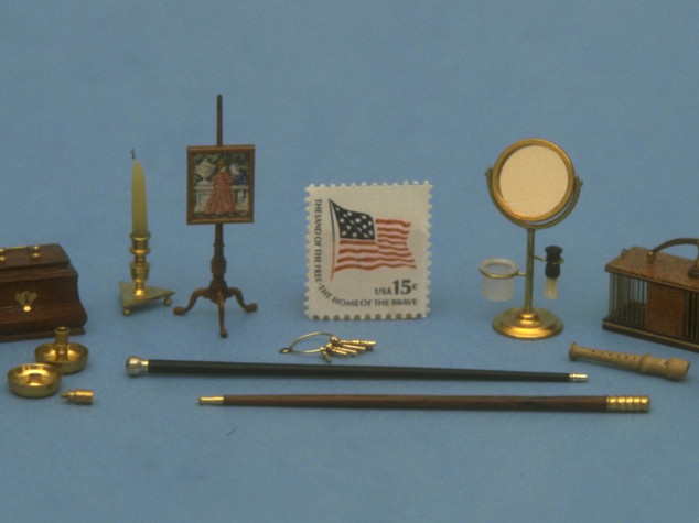 Miniature accoutrements, 1979