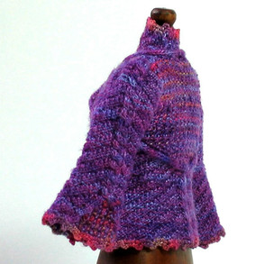 Rapunzel, Purple, side