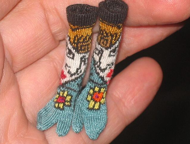 Tabi Socks with Samuri Face