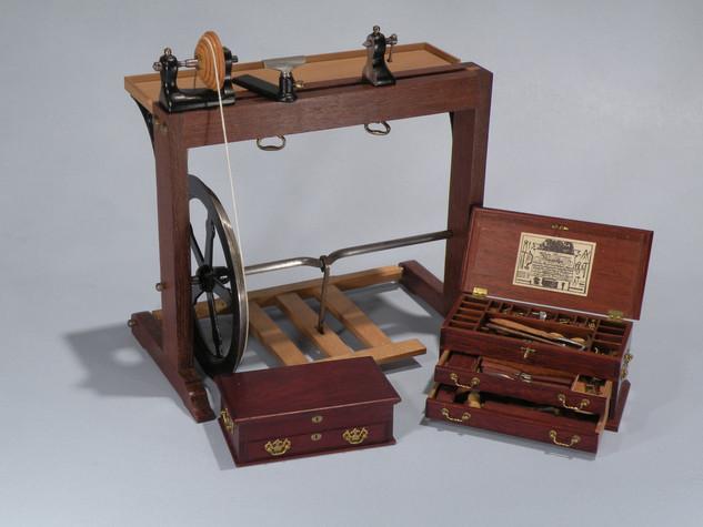 Holtzapffel & Deyerlein lathe c. 1810 and Tool Chest1989