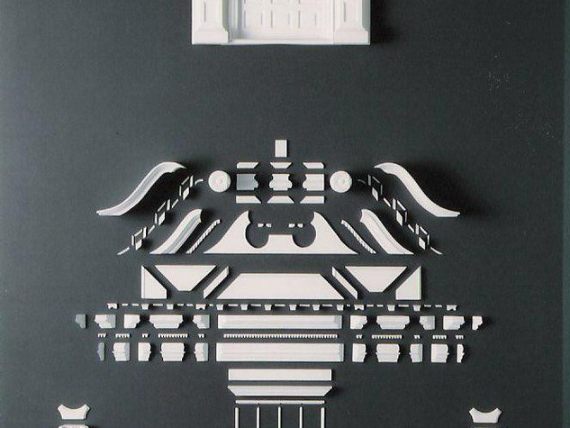 Twin Manors, front door exploded view