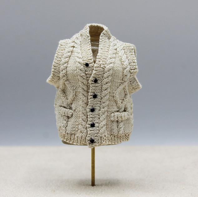Aran Fisherman's Vest, 2018