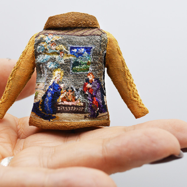 Nativity I (back view)