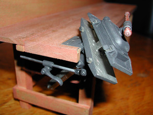 """""""Emmert"""" Patternmaker's Vise, rotates, tilts, twists, jaws angle, round and square extendable dogs"""