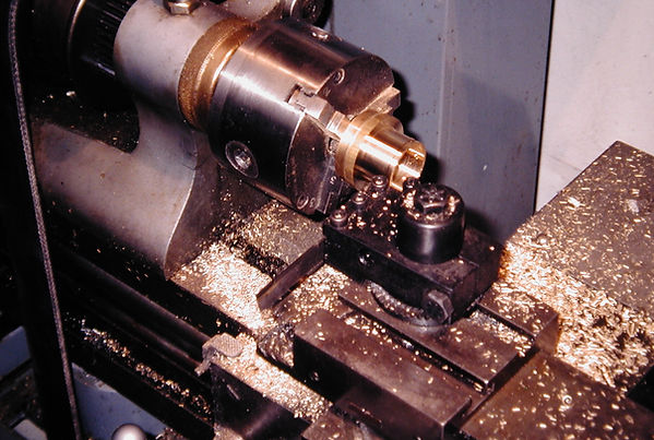 sw23  French spinning wheel, machining t