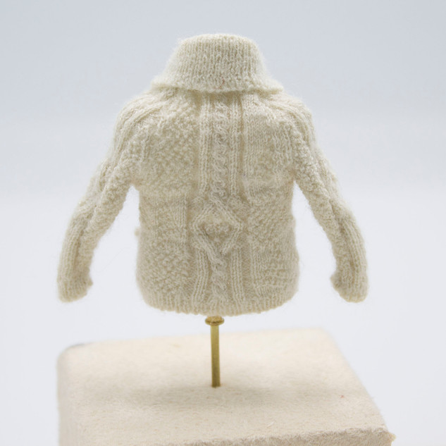 Aran Fisherman's Cardigan, 2019
