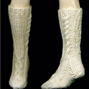 Cabled Socks