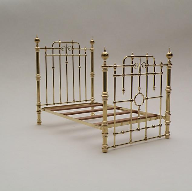 Bed, brass, 2013