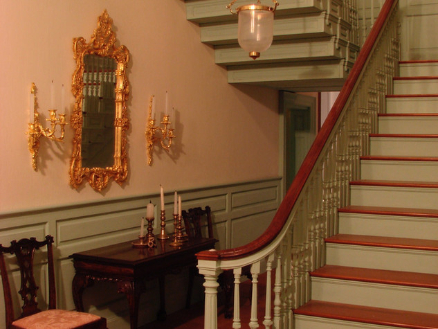 Twin Manors Stair Hall, 1987