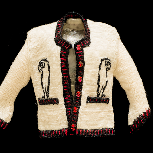 Picasso Cardigan, Front