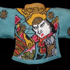 Truth and Wisdom Kimono, Back View