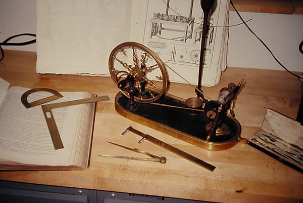 sw19  French spinning wheel, I had Berge