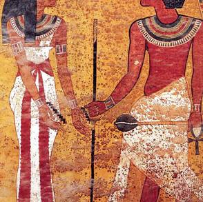 King Tut Tomb-North Wall