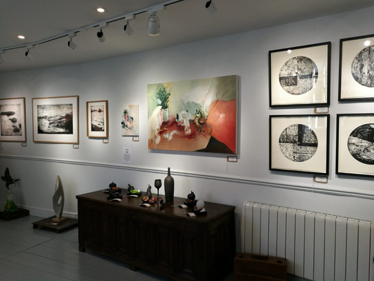 Emerging Artists Exhibition, Bils and Rye, Yorkshire 2018