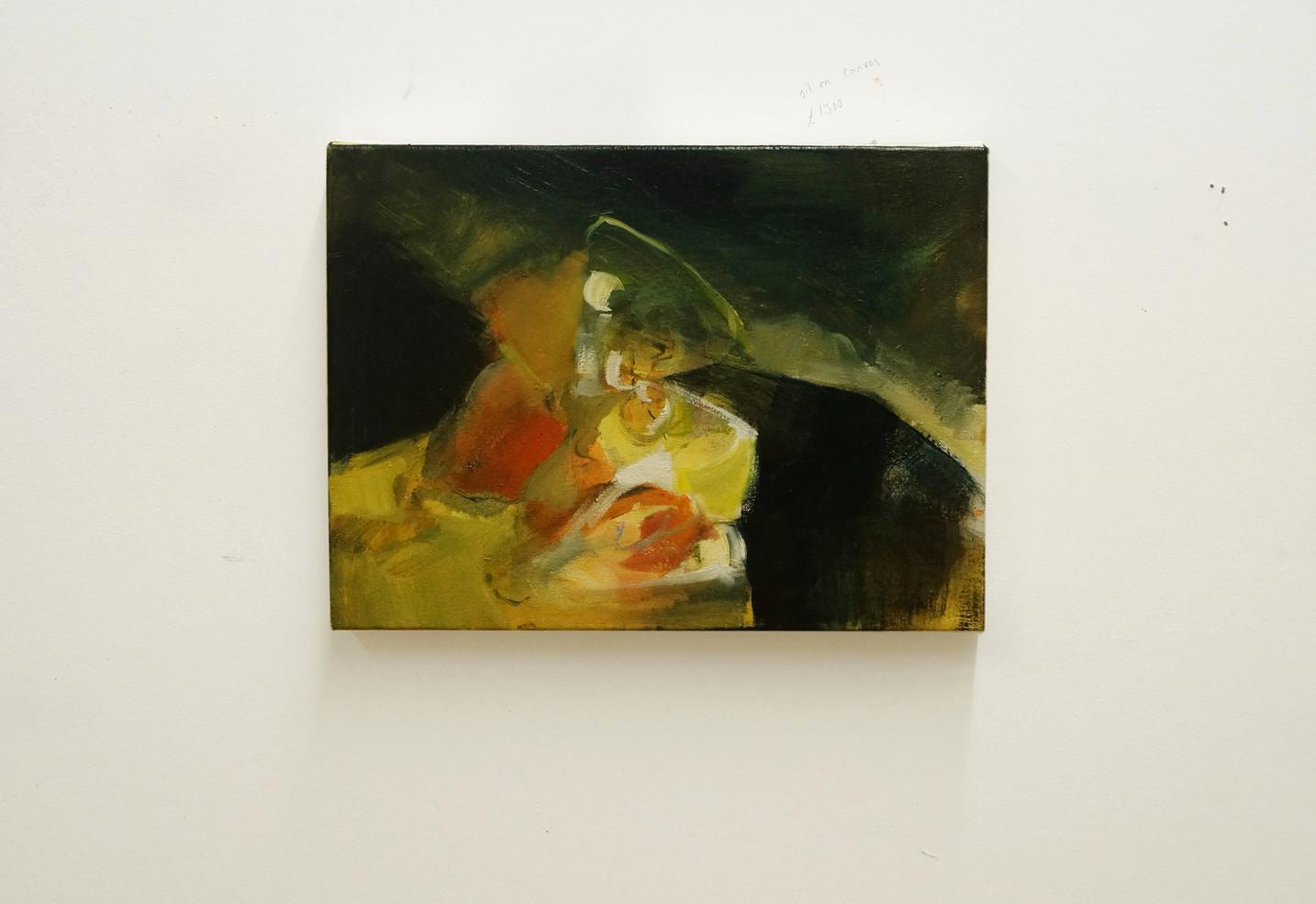 Oil on canvas 40.5x30.5cm
