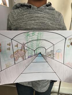 Isaac perspective drawing