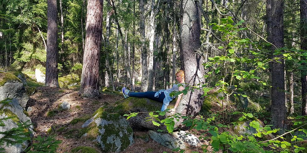Skogsbad - shinrin-yoku, Hässelmara, Ornö