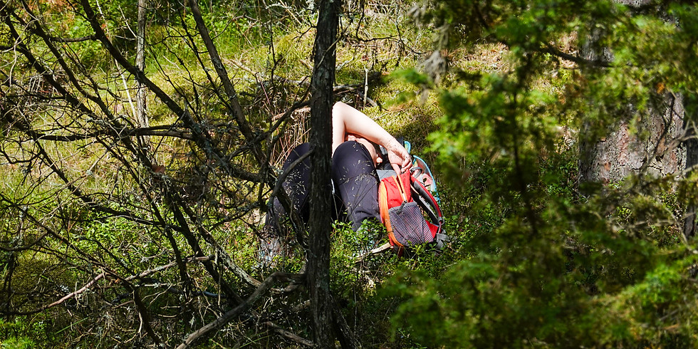 Skogsbadsguidning on-line - live eller inspelat