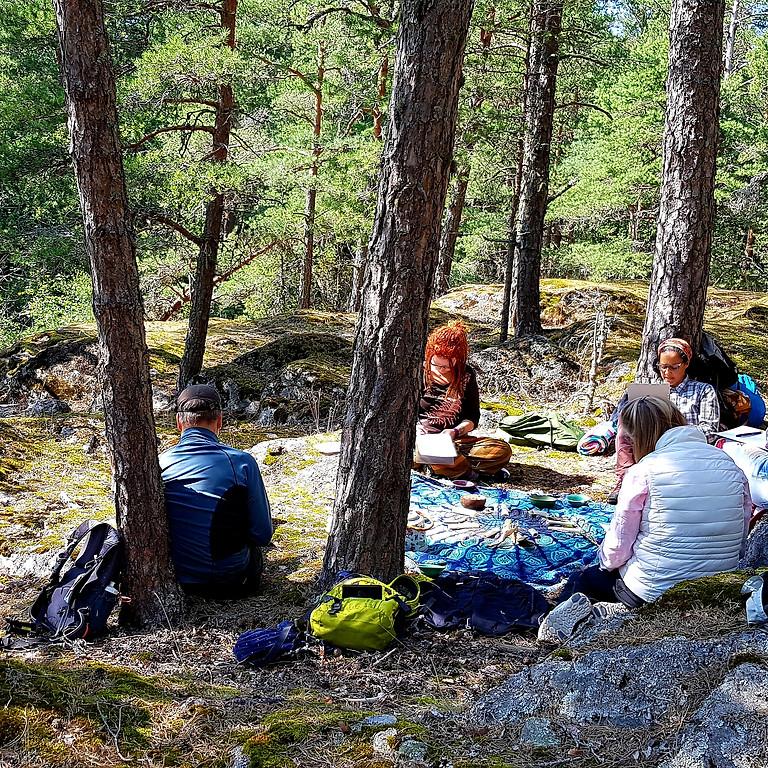 Vallentuna, Veda Naturstig: Skogsbad en väg till inre hälsa Teori & Praktik