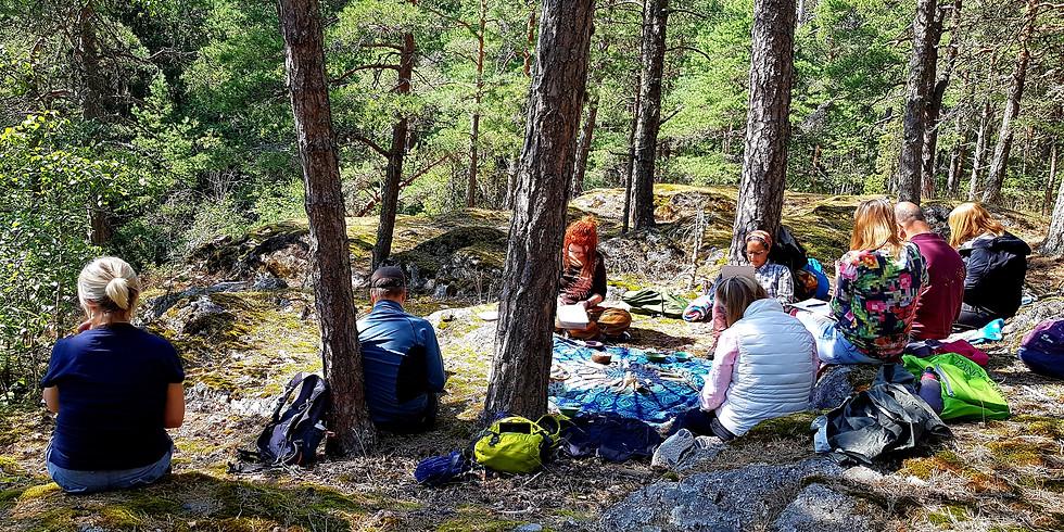 Åkersberga, Näsudden: Skogsbad en väg till inre hälsa Teori & Praktik