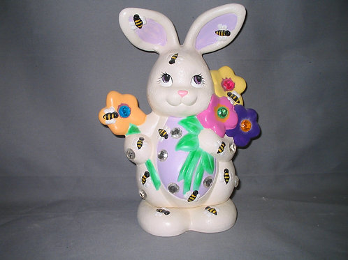 Rabbit with Bumble Bees