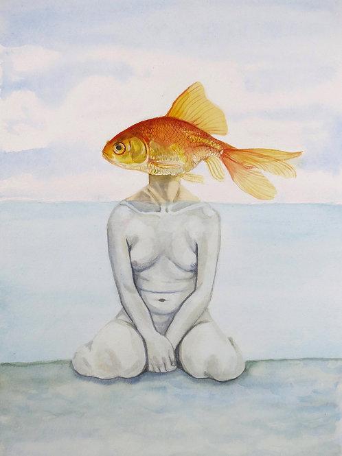 Som en fisk på land, som et menneske under land