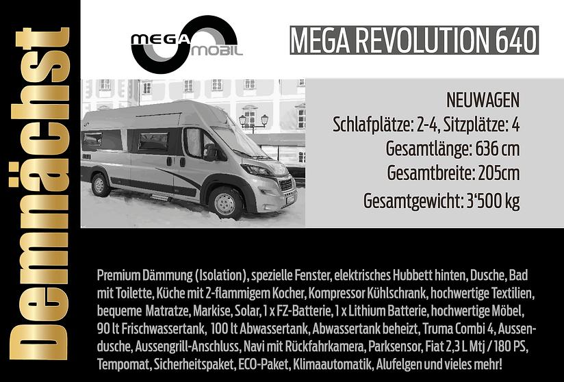 MegaRevolution 640 - mit höhenverstellba