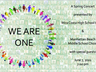 MCHS Choir Spring Concert