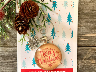 Order your sweet little Christmas Ornament now!